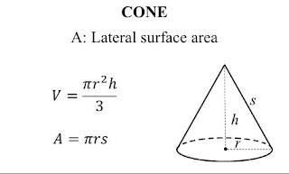 Công thức tính thể tích hình nón  Công thức tính thể tích hình nón