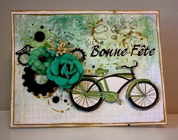 Magenta: Carte Bonne Fête! / Happy Birthday Card
