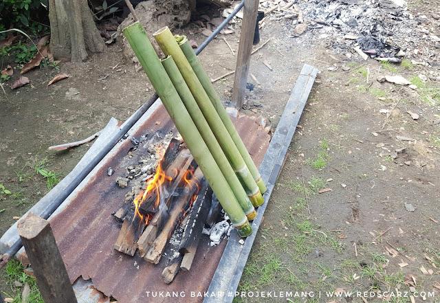 projek raya bakar lemang