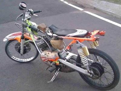 motor drag rx king vs ninja