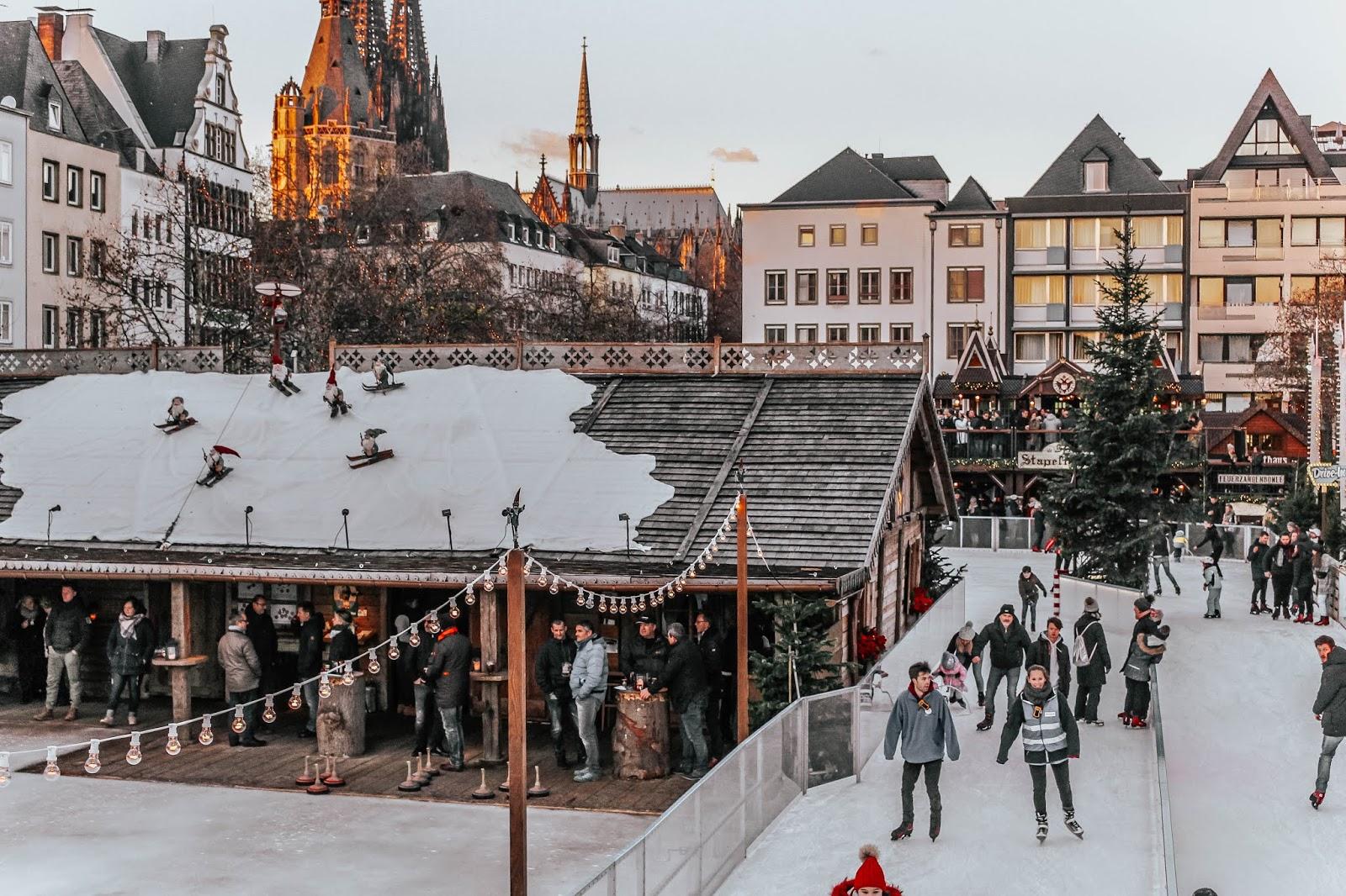 Heimat der Heinzel Ice Rink Cologne Christmas Markets