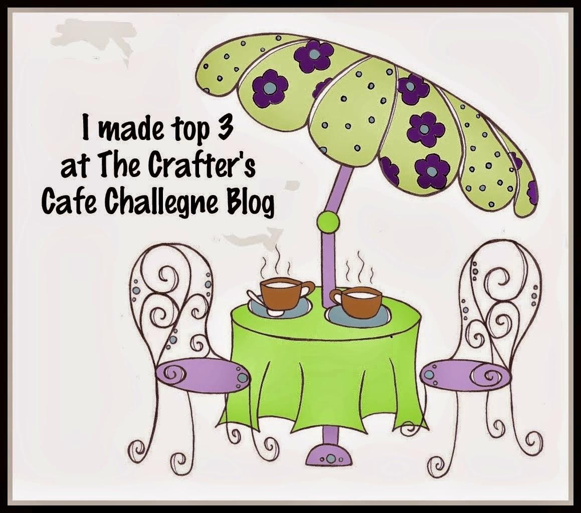 http://crafterscafeblogchallenge.blogspot.ca/2014/12/challenge-93-use-doily.html