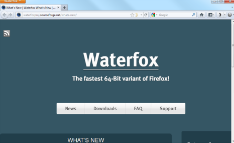 Download Waterfox Browser 2018