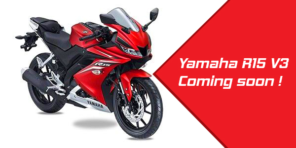 Yamaha R15 V3 is coming to India !