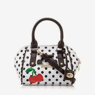 Floozie by Frost French white spotted cherry grab bag