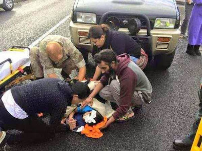 Harman Singh removed turban to save child bleeding after accident