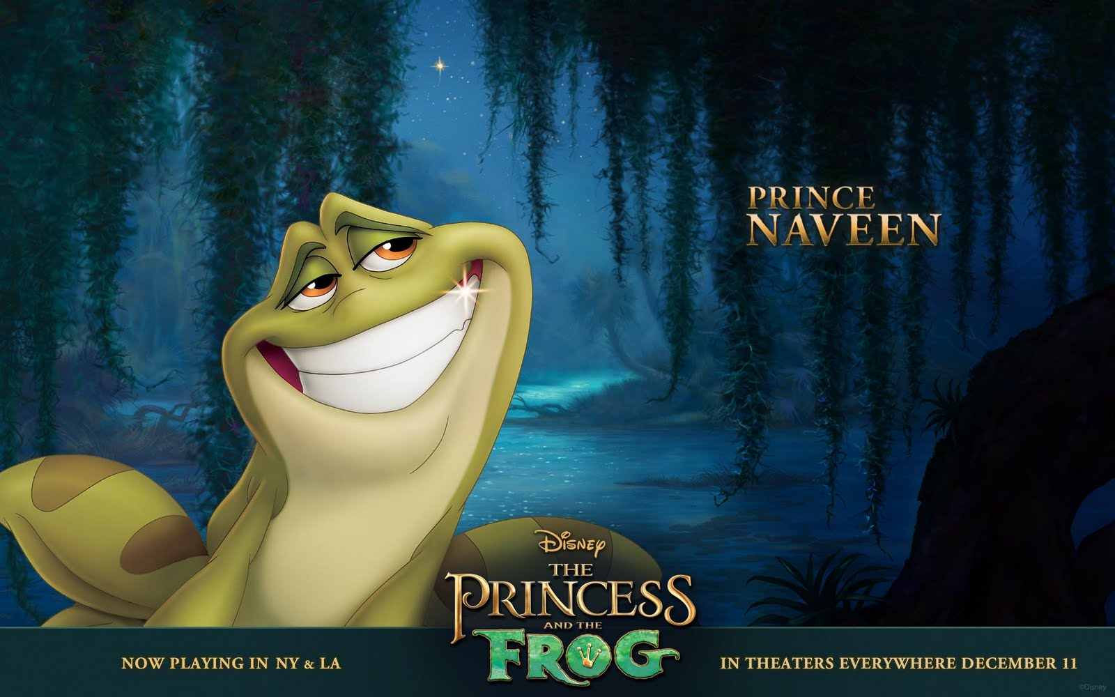 Background collections the princess and the frog wallpaper - Frog cartoon wallpaper ...