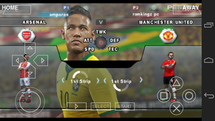 Pes 2016 ppsspp android download link | Download PES 2016 ISO PSP On