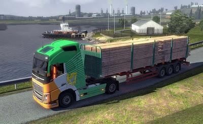 العاب الشاحنات العملاقه الكبيرة الحقيقية,لنقل السيارات 2020 euro truck simulator