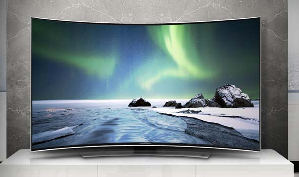 Improved Contrast to the Corners in curved TVs