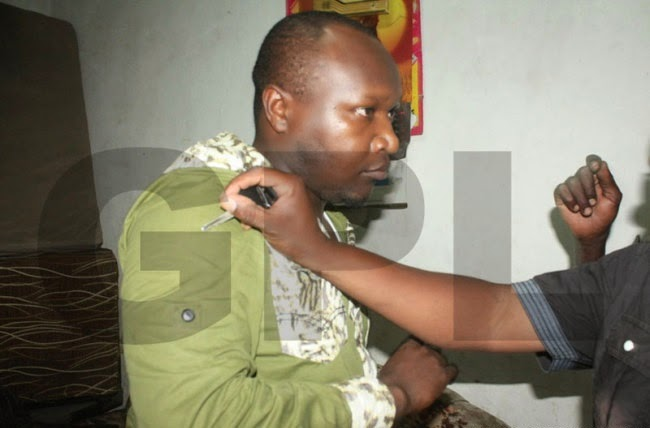 Pastor caught live with a military officer's wife in his bedroom