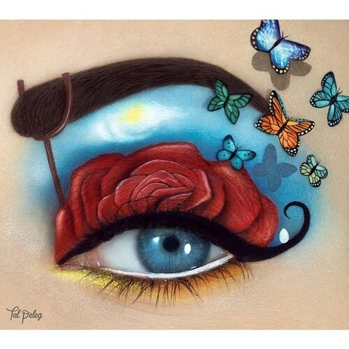 05-Salvador-Dali-Tal-Peleg-Eye-Make-Up-Art-Drawings-www-designstack-co
