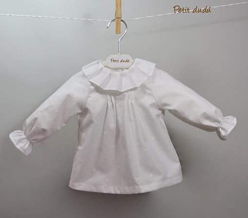 cubrepañales y blusa para Niña Petitdudu