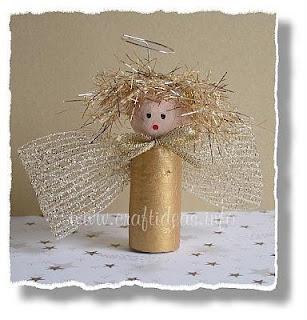 tubos de cartón  manualidad muñequita