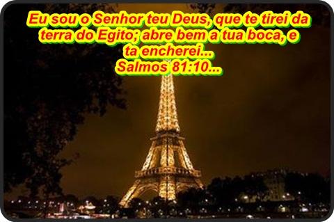 Resultado de imagem para salmos 81:10