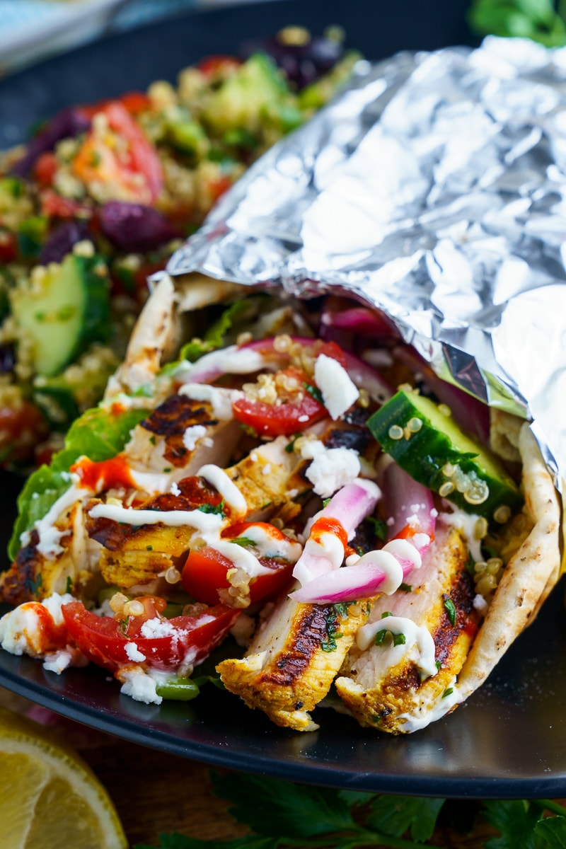 Chicken Shawarma Warps