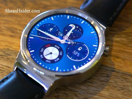 Huawei Watch Smartwatch Android Wear 2.0 Update Review