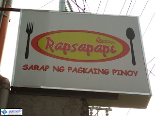 Double Face Panaflex Signage for Rapsapapi, Binan, Laguna