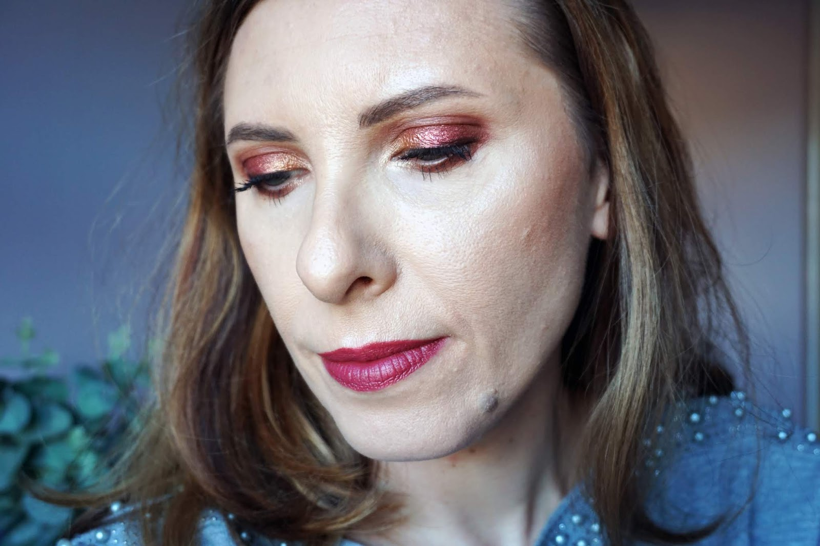 Makeup look created with Revolution Pro x Nath palettes