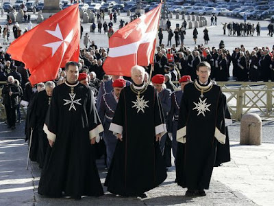 Catholic gnosticism military politics fascism CIA Knights of Malta