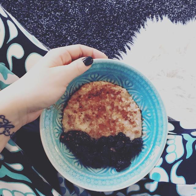 porridge, GrinseStern, Rezept, Haferbrei, clean eating, size zero