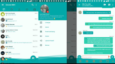 BBM Mod NAF-Chat v1.0.0 Series Mini Teal Base 3.2.5.12