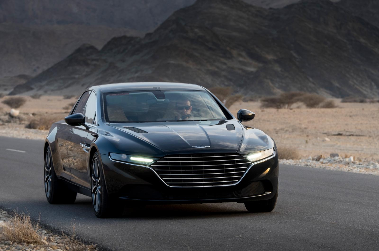 Aston Martin Drops New Photos Of Lagonda Saloon
