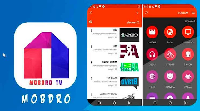 Configurar la aplicación Mobdro