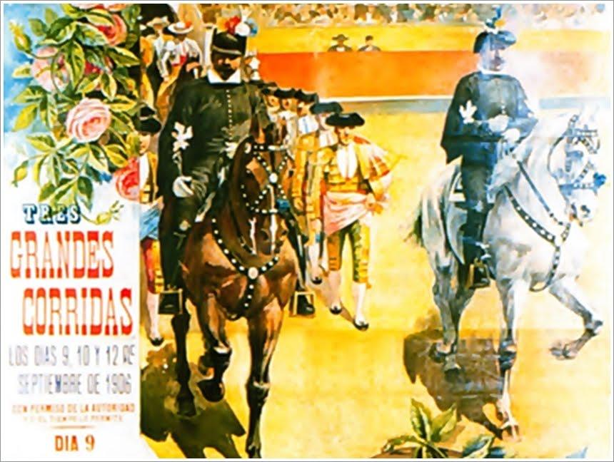 CARTELES CON HISTORIA: AÑO 1906, TOREROS EN DIMINUTIVO