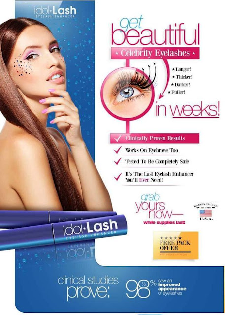 67040980521 Clinically Proven to increase eyelash density up to 82% in only 2-4 weeks.
