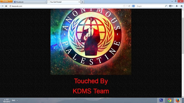 World's Largest Web Hosting company 'LeaseWeb' Hacked by KDMS Team