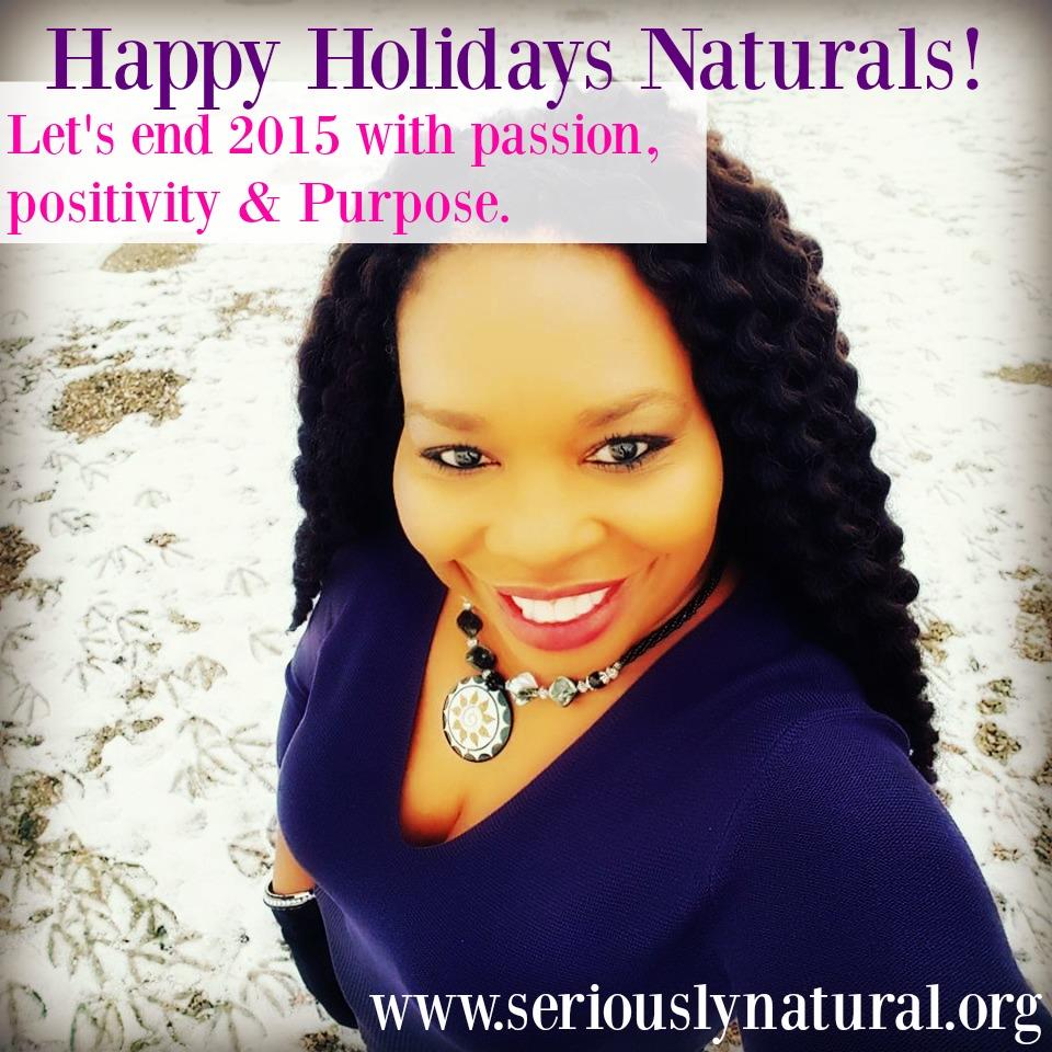 HAPPY HOLIDAYS from Sabrina at Seriously Natural