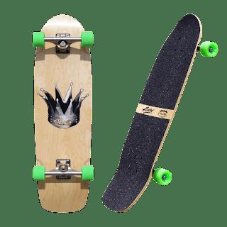 バンク(斜壁)最強サイズのアルバクラウン パンプ&スラッシュ サーフスケート