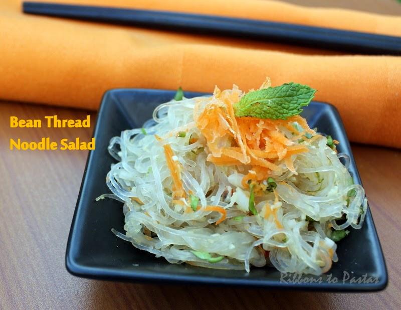 Vietnamese Bean Thread Noddle Salad Ribbons To Pastas