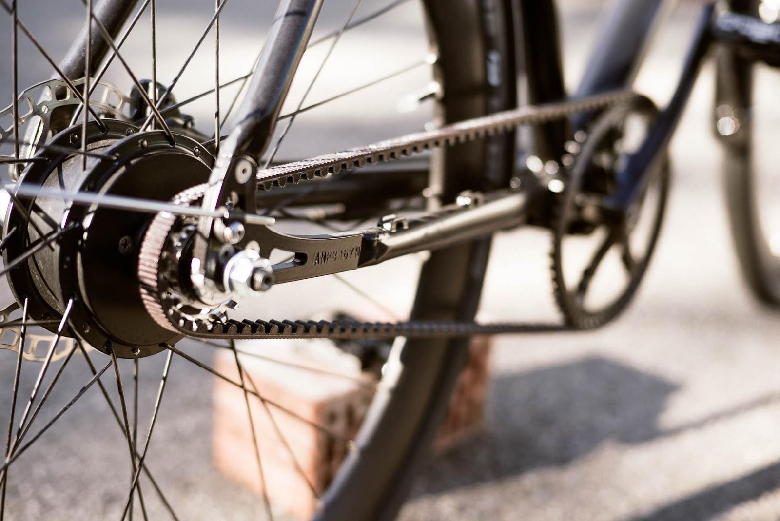 AMPLER HAWK E-Bike in Singlespeed Look und App-Konnektivität ...