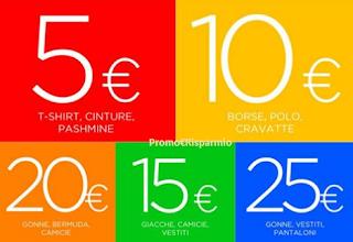 Logo Saldi Pazzi a partire da 5 euro per tutta l'estate