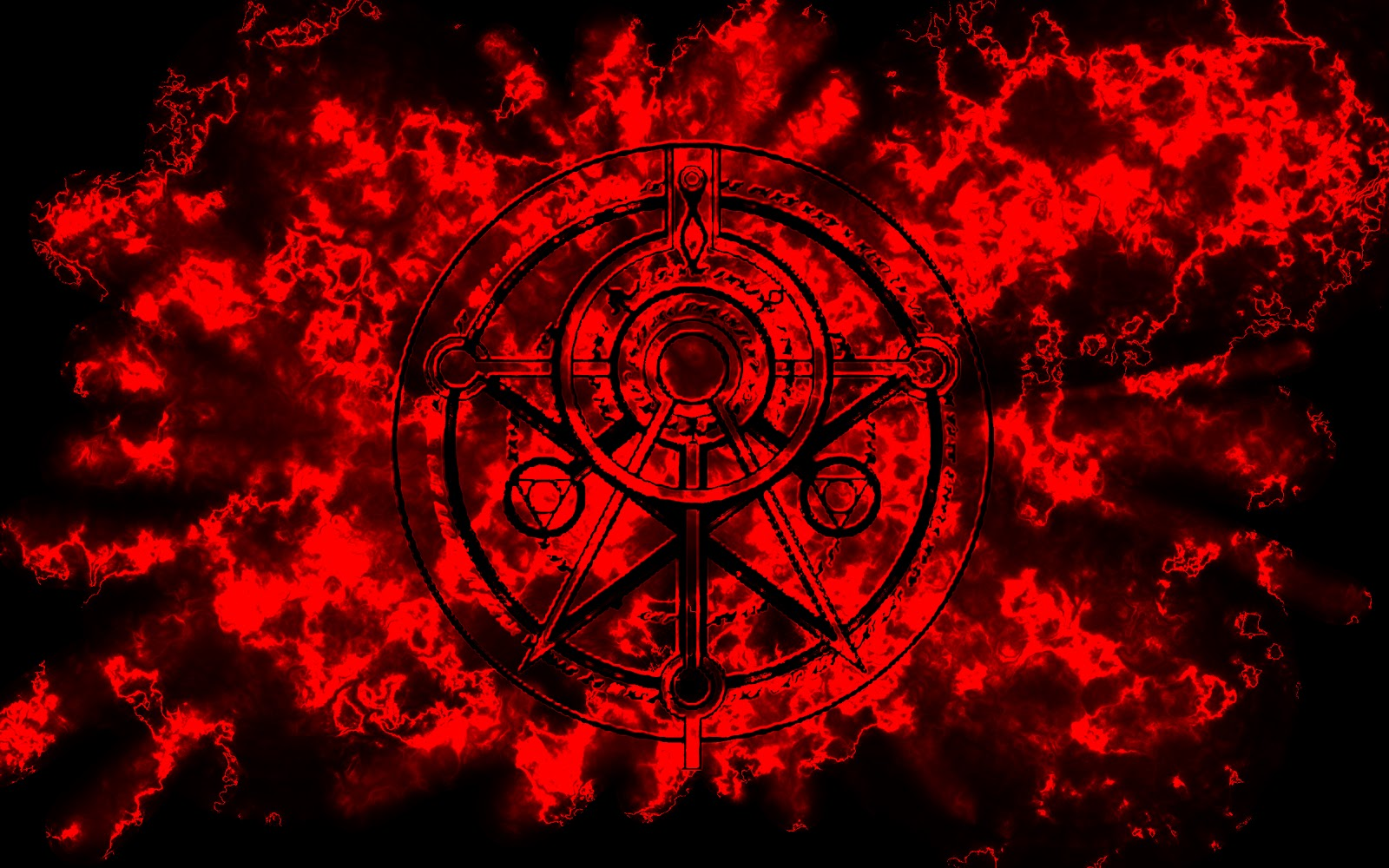 Banilung: red and black wallpaper