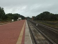 New Madhu road railway station