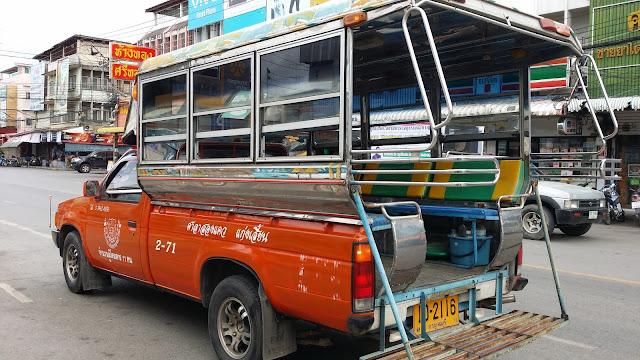 Taxi en Kanchanaburi