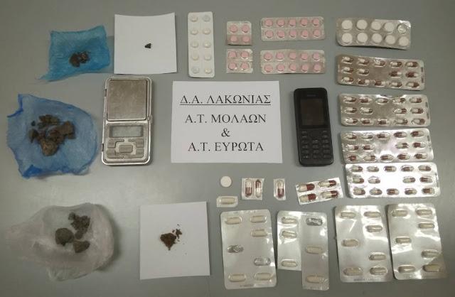 Σύλληψη για ναρκωτικά στη Σπάρτη