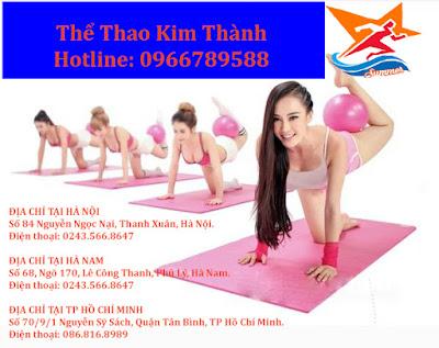 Địa chỉ mua thảm tập thể dục, thảm tập yoga tại Kim Thành
