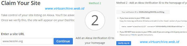 claim alexa rank blog website