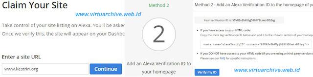 claim alexa rank blog website