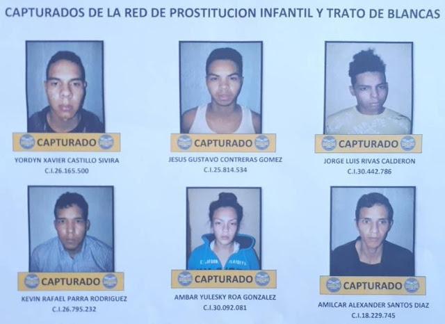Otra red de prostitución infantil desarticulada en el Táchira
