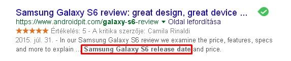 google organikus találat