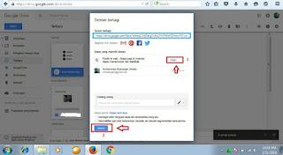 Cara membuat link download melalui google drive