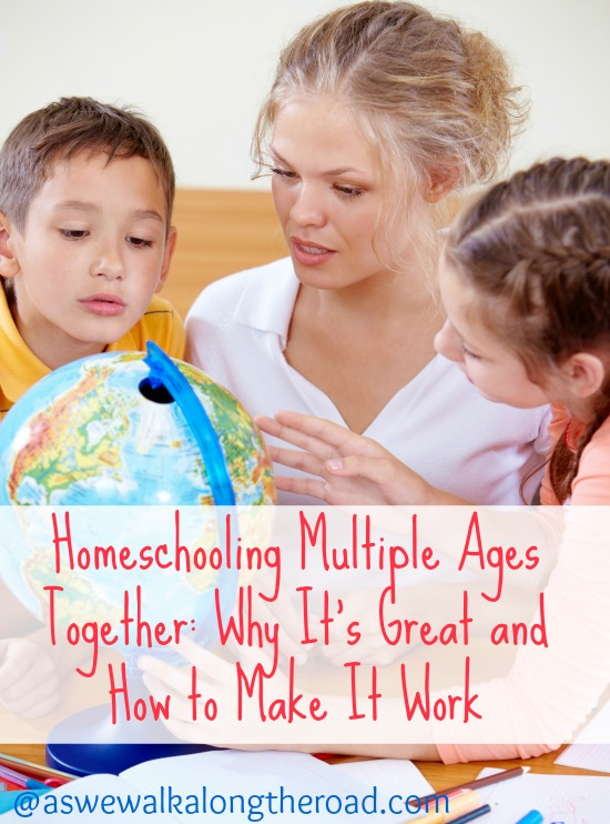 Homeschooling multiple aged kids