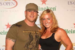 Bethanie Mattek Sands And Justin Sands At The US Open Player Party