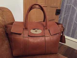 Mulberry Small Bayswater Buckle in Oak NVT