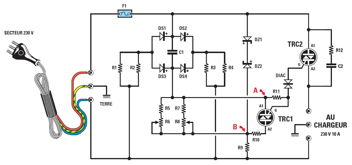 variateur de vitesse pour perceuse electrique